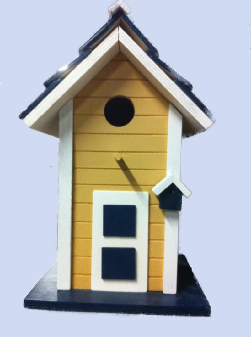 Vogelhuisje nestkast vogel villa woonaccessoires decoratie cadeau 39 s en handgemaakte producten - Villa decoratie ...