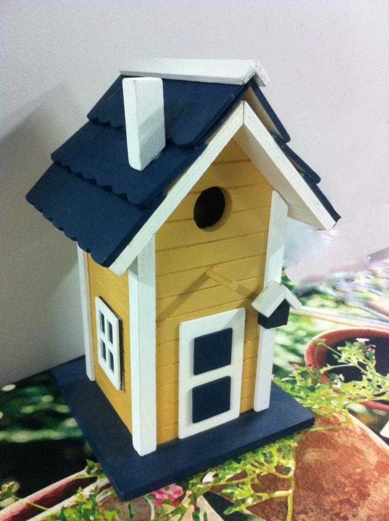 Vogelhuisje nestkast vogel villa woonaccessoires decoratie cadeau 39 s en handgemaakte producten - Decoratie villas ...