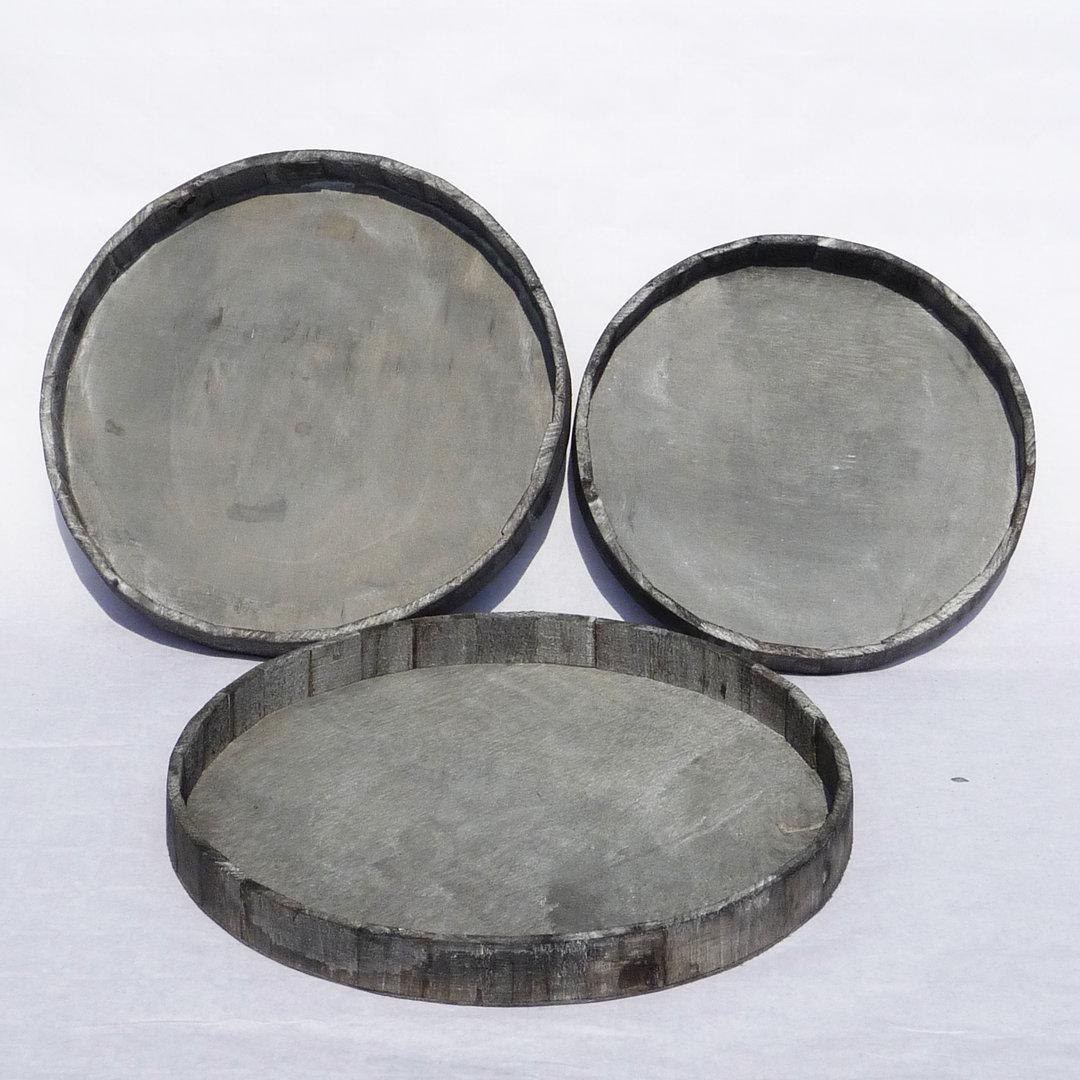 Schaal hout grijs rond - Decoratie, woonaccessoires, cadeauu0026#39;s en ...