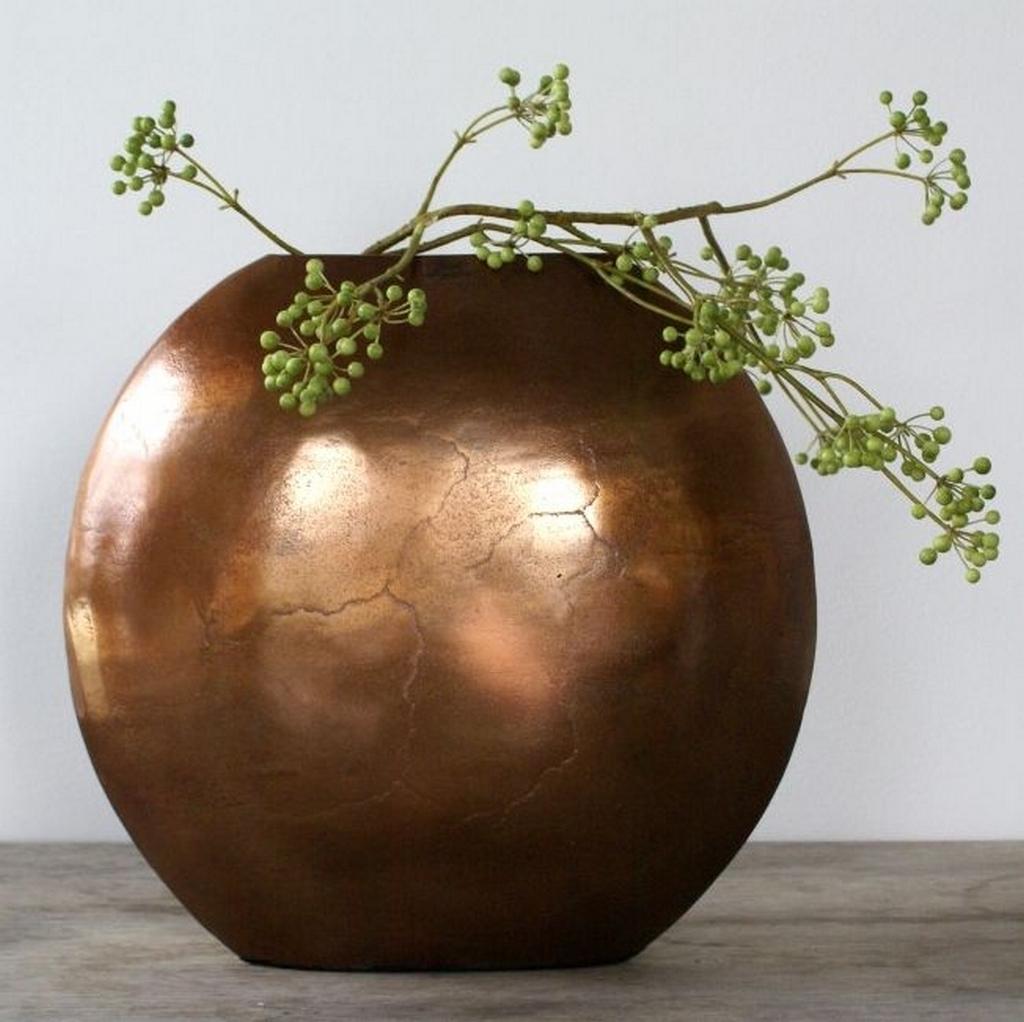 Koperen oogvaas woonaccessoires decoratie cadeau 39 s en for Decoratie in vaas