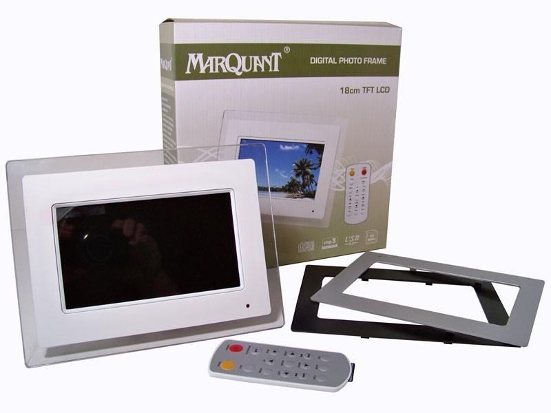 Digitale fotolijst met klok with woonkamer klok for Huis digitaal