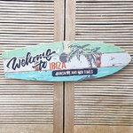 Ibiza bord Surfplank Welcome 60 cm